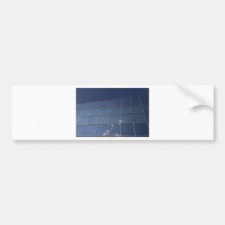 glass facade - corporate building bumper stickers