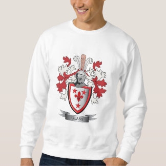 Glass Family Crest Coat of Arms Sweatshirt