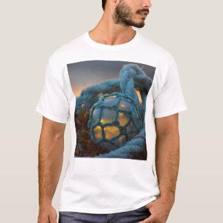 Glass fishing float, Sunset, Alaska T-Shirt