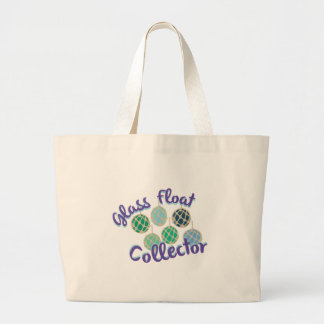 Glass Float Collector Large Tote Bag