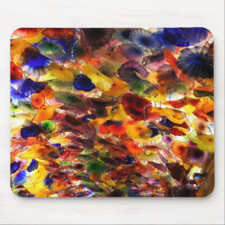 Glass Flower Ceiling Mouse Pad