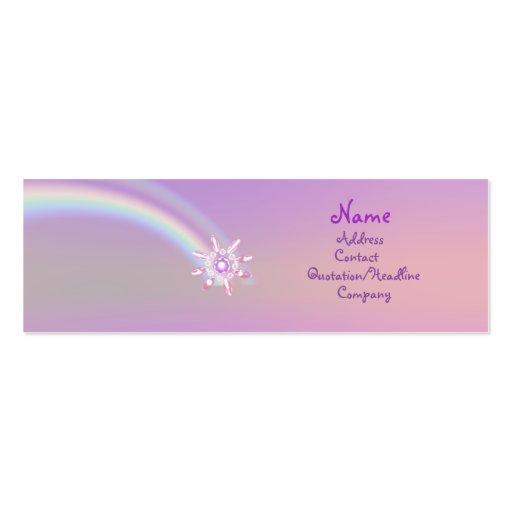 Glass Flower - Skinny Business Card