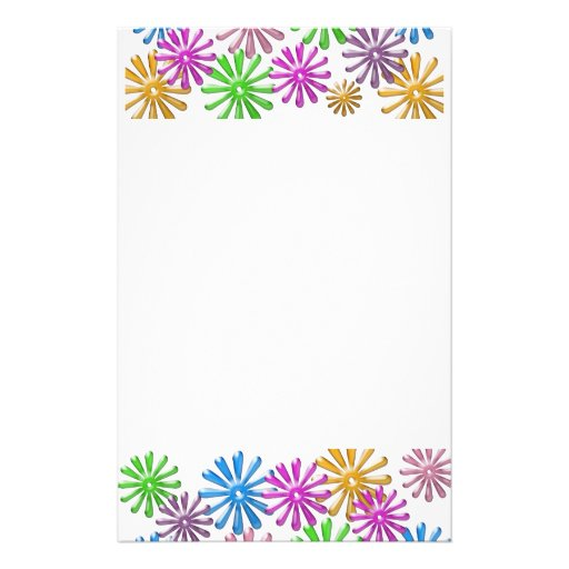 Glass Flowers Stationery
