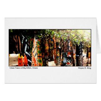Glass Fresco at Big Millys, Ghana Card