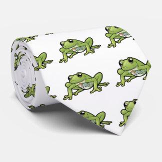 Glass Frog Tie