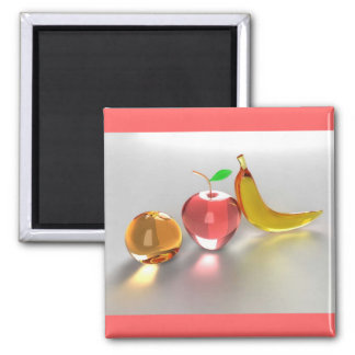 Glass Fruit Magnet