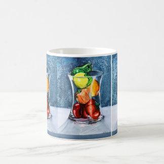 Glass Fruit Mug