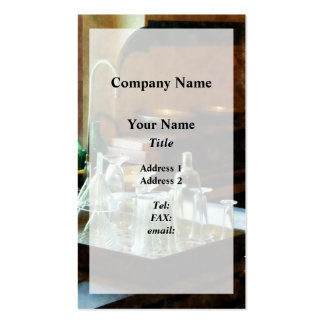 Glass Funnels and Bottles Pack Of Standard Business Cards