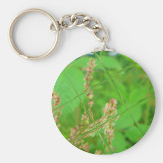 Glass Garden Key Ring