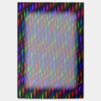 Glass Gem Blue Red Mosaic Abstract Artwork Post-it® Notes