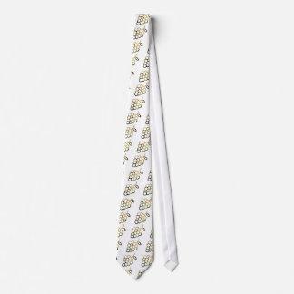 Glass Grapes Tie