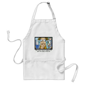 Glass Half Fool Funny Gifts Mugs Tees Cards Aprons