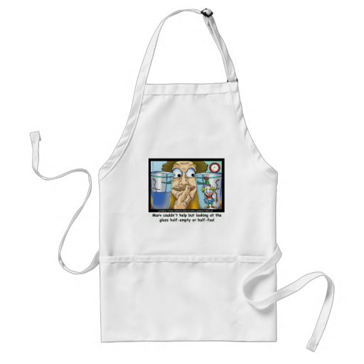 Glass Half Fool Funny Gifts Mugs Tees & Cards Aprons