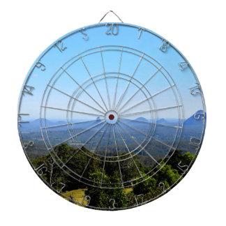 GLASS HOUSE MOUNTAINS QUEENSLAND AUSTRALIA DARTBOARD