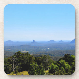 GLASS HOUSE MOUNTAINS QUEENSLAND AUSTRALIA DRINK COASTER