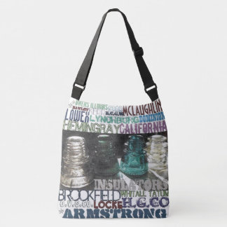 Glass Insulator Custom All-Over-Print Tote Bag