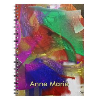 Glass Jar - View Thru the Glass Note Book