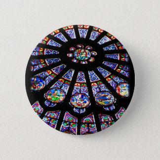 Glass Light 6 Cm Round Badge
