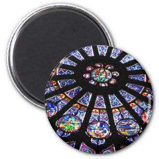 Glass Light 6 Cm Round Magnet