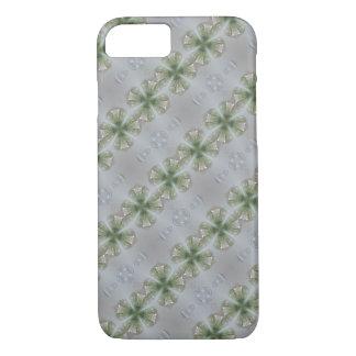 Glass Look Shamrock Four Leaf Clover Good Luck iPhone 8/7 Case