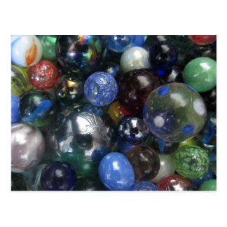 Glass Marbles Postcard