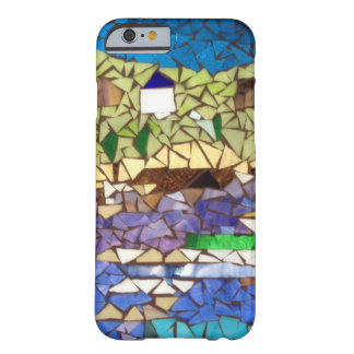 Glass Mosaic Boat Scene Barely There iPhone 6 Case