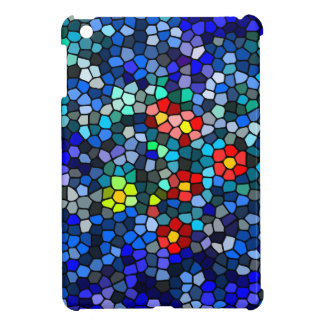 Glass Mosaic Flower Case for Ipad mini