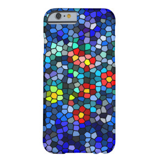 Glass Mosaic Flower Case for iphone 6 Barely There iPhone 6 Case