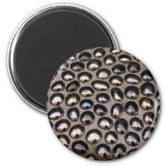 Glass mosaic magnet