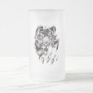 """Glass mug fosco """"TIGER """""""