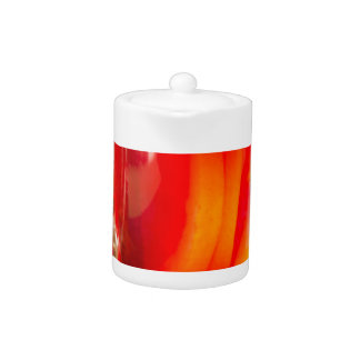 Glass mug with citrus mulled wine