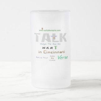 glass - ocho frosted glass mug