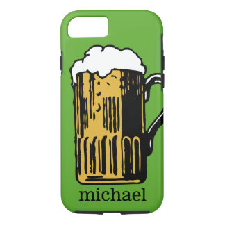 Glass of Beer custom name & color phone cases