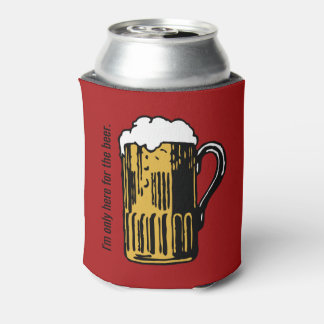 Glass of Beer custom text can cooler