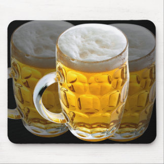 Glass of Beer Mouse Pad/Mat Mouse Pad