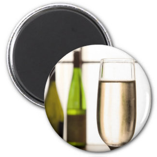Glass of Champagne Magnet