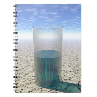 Glass of Water Notebooks