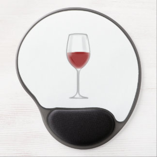 Glass of Wine Gel Mouse Pad