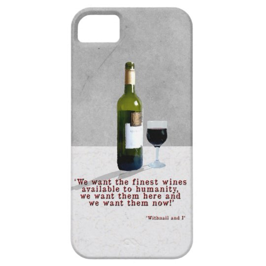 Glass of Wine iPhone 5 Covers