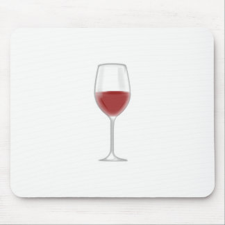 Glass of Wine Mouse Pad