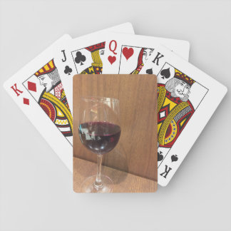 Glass of Wine Playing Cards