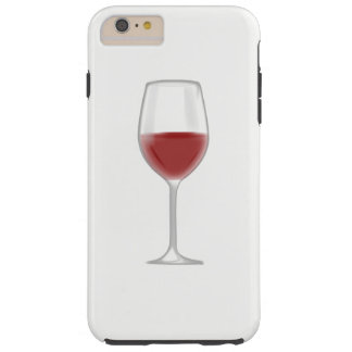 Glass of Wine Tough iPhone 6 Plus Case
