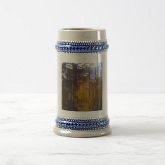 Glass photo coffee mugs