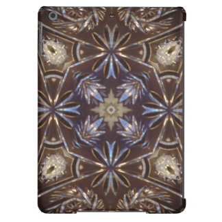 glass plate abstract pattern iPad air cover