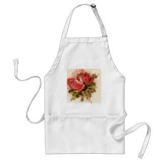 Glass Roses Apron