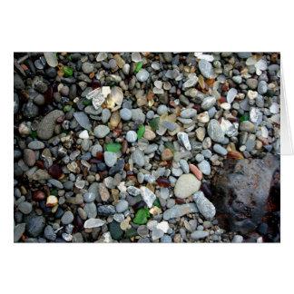 Glass Sand Card