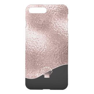 Glass Seashell Rose Gold ID363 iPhone 8 Plus/7 Plus Case