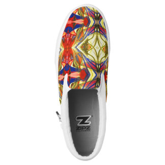Glass Slip On Shoes