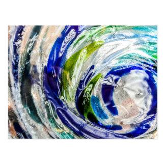 Glass Swirl Photography Postcard