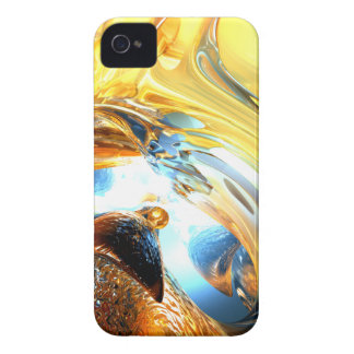 Glass Tidal Wave Abstract Blackberry Bold Case